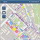 Die Abteilung Vermessung im Stadtplanungsamt hat eine neue interaktive Lagekarte der Michaelis-Kirchweih erstellt.