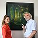 Das Ehepaar Hammond feierte im Oktober ihr 30-jähriges Jubiläum als Kunstvermittler in der Kleeblattstadt.