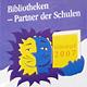 """Die Volksbücherei hat vom Staatsministerium für Unterricht und Kultus das Gütesiegel """"Bibliotheken – Partner der Schulen 2007"""" erhalten."""