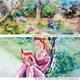 Die schönsten Fürther Leseorte zeigt Birgit Maria Götz in der  Schau