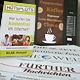 In der Hauptstelle der Volksbücherei wird das Zeitungslesen im Herbst dank eines kostenfreien WLAN-Hotspots und Kaffeautomaten noch gemütlicher.