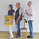 Vom 18. September bis 30. Oktober zeigen Monika Reichel, Richard Büning und KaPeJott