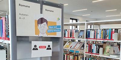 Volksbücherei bleibt offen