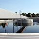 Drei neue Nachklärbecken sorgen in der Haupt- kläranlage dafür, das bereits gereinigte Abwasser von Schlamm und Schwebstoffen zu trennen.