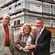 Bereits zum Richtfest sind ein Drittel der 15 hochwertigen Neubau-Mietwohnungen der Firma Koch Immo in der Fichtenstraße vermietet.