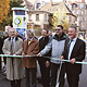 Früher als geplant konnte die für rund 1,5 Millionen Euro runderneuerte Karolinenstraße für den Verkehr wieder freigegeben werden.
