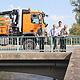 Die Regnitzbrücke in Vach ist ab Freitag, 26. August, zirka 13 Uhr, nur noch einspurig befahrbar.