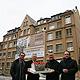 """Das Fürther Immobilienunternehmen P & P hat rund 80 Prozent der ehemaligen Quelle-Liegenschaften in Fürth erworben. Neuestes Projekt: das """"Stadtpalais""""."""