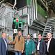 Für rund 1,2 Millionen Euro hat die infra das Heizwerk in der Vacher Straße um einen Biomassekessel erweitert.