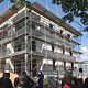 Bauverein Fürth errichtet für 2,9 Millionen Euro zwei Häuser mit 18 Wohnungen in der Würzburger Straße in Burgfarrnbach.