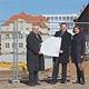 Die Arbeiten zur Umgestaltung des ehemaligen Tucher-Brauerei-Geländes in der Schwabacher Straße zum Wohn- und Gewerbeareal schreiten voran.