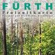 Die Freizeitkarte Fürther und Zirndorfer Stadtwald im Maßstab von 1 : 10 000 ist neu aufgelegt und aktualisiert worden.