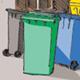 Die Abfallwirtschaft der Stadt Fürth bietet Hilfestellung und Empfehlungen, wie praktische und ansehnliche Stellflächen für Mülltonen gestaltet werden können.