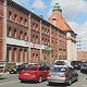 """Unter dem Projektnamen """"Malzböden"""" wird das denkmalgeschützte Fabrikgebäude auf dem früheren Tucher-Gelände saniert."""