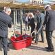 Grundsteinlegung für die letzten beiden Bauabschnitte der Schultheiss Wohnbau AG auf dem Kavierlein-Gelände: Hier entstehen weitere 90 Wohnungen.