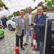 An drei weiteren E-Ladesäulen in der Innenstadt sowie bei beim ebl-Biomarkt auf der Hardhöhe kann jetzt bequem Öko-Strom getankt werden.