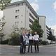 Die städtische Wohnungsbaugesellschaft WBG beteiligt sich mit einer Solaranlage auf der Hardhöhe am Partnerstrommodell.