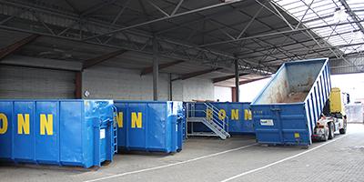 Betrieb im Recyclinghof Fürth angelaufen