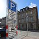Auf der Fürther Freiheit können Autofahrer, die mit Elektrofahrzeugen unterwegs sind, ab sofort bis zu zwei Stunden gebührenfrei parken.