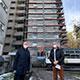 Die WBG Fürth modernisiert einen 13-stöckigen Hochhauskomplex in der Heilstättenstraße – ein weiterer Schritt Richtung klimaneutralem Bestand.