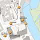 Die Stadt möchte das Areal vom Heinrich-Schliemann-Gymnasium bis zum Königsplatz neugestalten. Wie - darüber informiert ein virtueller Rundgang.