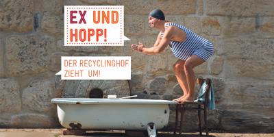 Recyclinghof zieht um