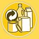 In der Kleeblattstadt übernimmt die Firma Veolia die Sammlung und Abholung der Gelben Säcke.