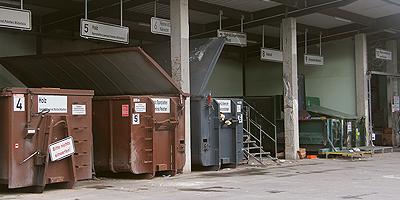 Abfallanlagen wegen Fortbildung geschlossen
