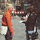 Wie ist die Stimmung bei Händlern und Passanten? In einer Umfrage wurden Meinungen zur Umgestaltung der Fußgängerzone gesammelt.