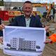 Die WBG baut bis Ende 2022 im Stadtteil Hardhöhe 29 geförderte Mietwohnungen, die hohen energetischen Ansprüchen und dem Klimaschutz gerecht werden.