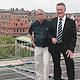 Neue Anlage auf dem Sozialrathaus: beim Nutzen der Solarenergie richtet die Stadt ihr Augenmerk zunehmend auf die Innenstadt.