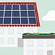 Das Solar- und Gründachkataster hilft bei der Planung einer eigenen Photovoltaik- oder Solarthermie-Anlage bzw. bei der Planung einer Dachbegrünung.