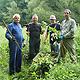 Am Bucher Landgraben fand eine Pflegeaktion statt, bei der die die ehrenamtlichen Helfer das indische Springkraut im Visier hatten.