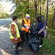 Bei einer großen Aufräumaktion haben rund 120 Teilnehmende über 600 Kilogramm Müll und teilweise kuriosen Unrat aus dem Stadtgebiet entfernt.