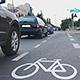Die Seeackerstraße erhielt Schutzstreifen für Radler und in Zukunft erhält die Planung durch ein Radwegekonzept Vorrang.