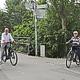 Oberbürgermeister Thomas Jung will die Rad-Infrastruktur weiter verbessern und den Pegnitztal-Radweg bis zur Stadtgrenze ausbauen.