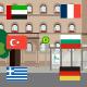 Informationsvideo auf Arabisch, Bulgarisch, Französisch, Griechisch, Türkisch und Deutsch zu den öffentlichen Verkehrsmitteln in Fürth.