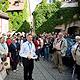 Die Tourist-Information lädt täglich zu Führungen ein, die die schönsten Seiten Fürths in den Mittelpunkt rücken und allerlei Wissenswertes zur Michaelis-Kirchweih zum Besten geben.