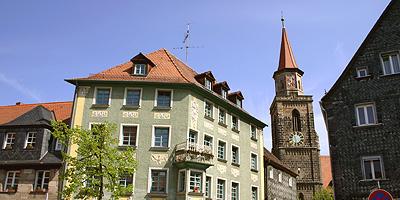 Die Kirche St. Michael ist das älteste Gebäude in Fürth. Die Anfänge dieser Wehrkirche gehen auf die Zeit um 1100 zurück.