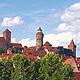 Fürth ist der ideale Ausgangspunkt für Ausflüge in die benachbarten historischen  Städte.