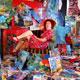 Im zweiwöchigen Wechsel geben Künstlerinnen und Künstler mit Ausstellungen, Tanz, Konzerten oder Lesungen Einblick in ihre Arbeiten.