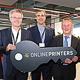 Eine der führenden Onlinedruckereien Europas hat ihr neues Hauptquartier mit insgesamt mehr als 150 Mitarbeitern in der Uferstadt bezogen.