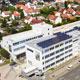 Rund 250 Mitarbeitende der uvex group werden in den neu sanierten Räumlichkeiten in der Würzburger Straße zukünftig arbeiten.