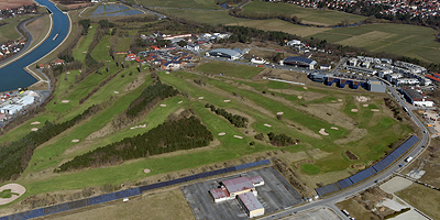 Gesamtfläche circa 123 Hektar<br>Im Nordwesten des Stadtgebietes <br><I>Foto: Nürnberg Luftbild, Hajo Dietz</I>